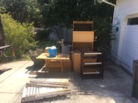 Junk Removal Atascadero, Before Picture