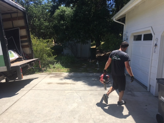 Leaf Blower Service Atascadero Junk Removal