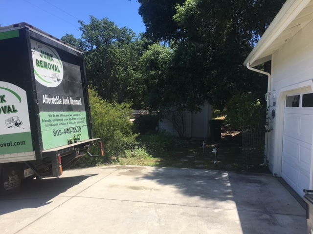 Junk Removal After Photo Atascadero
