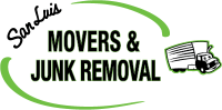San Luis Movers and Junk Removal Logo