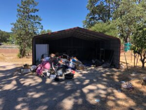 Atascadero Junk Removal Pile