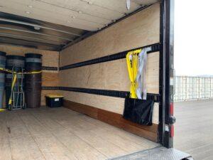 Inside Box Truck