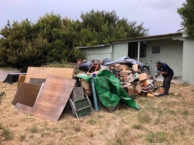 Grover Beach Junk Removal Before