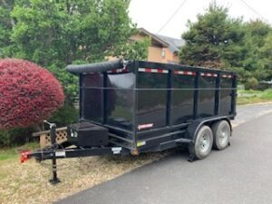10 Yard Dumpster Drop Off Service
