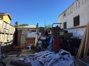 Santa Maria Yard Clean Up