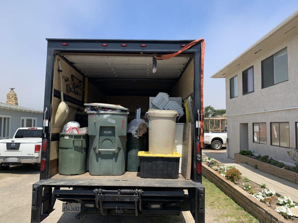 Oceano Property Clean Up